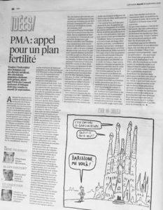 Article Libération PMA