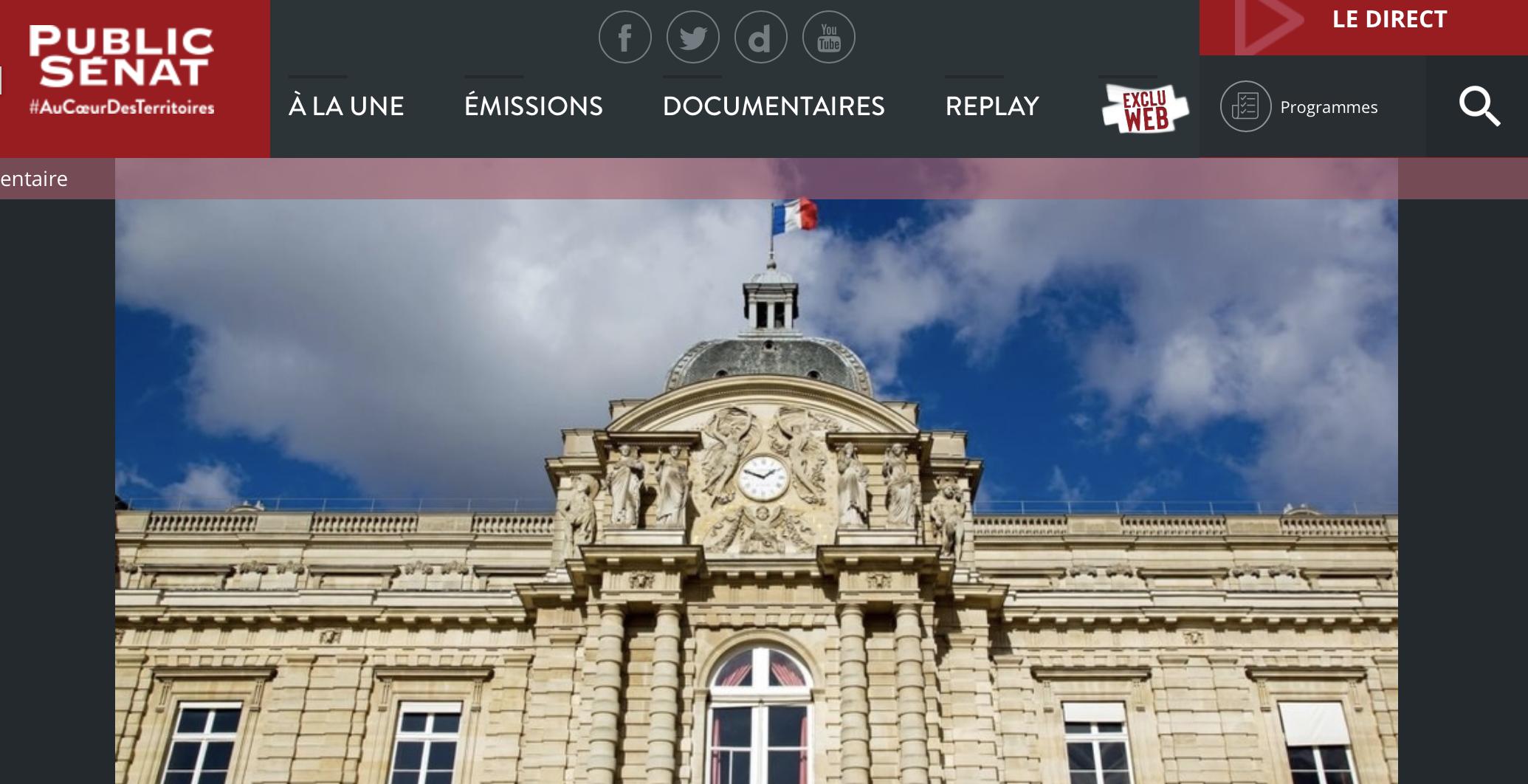 Public Sénat: Gilets Jaunes, Lettre aux Français…