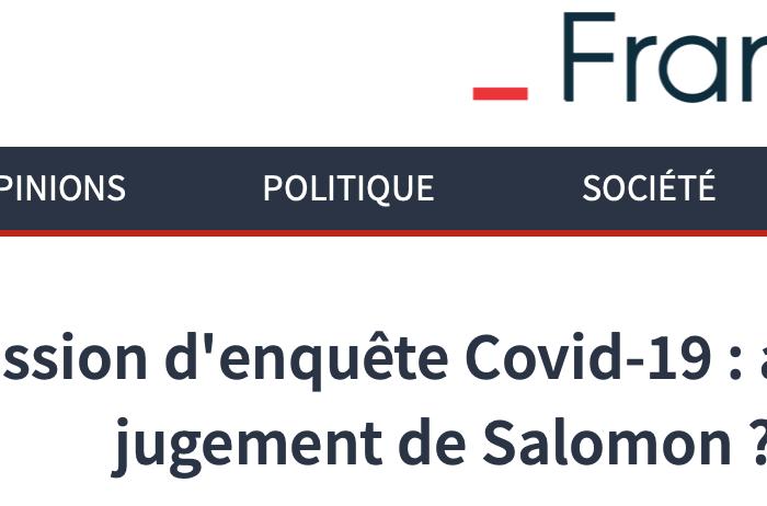 Dans France-Soir: Comprendre le rapport du Sénat sur la gestion de l'épidémie Covid-19